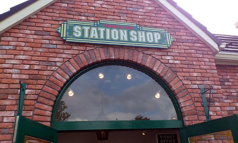 トーマスランドに行ってきました(3) – ステーションショップ