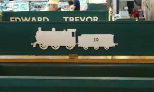 長い炭水車を引く、10番のきかんしゃは・・・