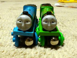 ゴードンとヘンリーの顔